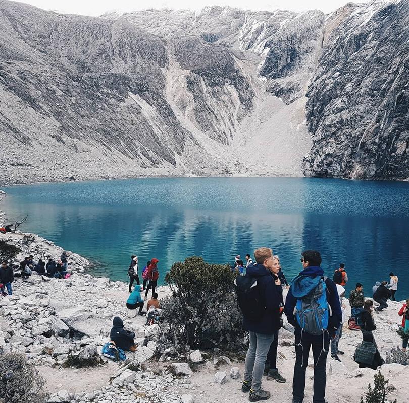 Laguna 69 på 4500 meter høyde, Peru