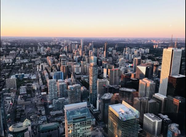 """Toronto ligger bare et """"steinkast"""" unna <3"""
