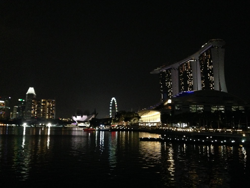 Backpacking i Singapore