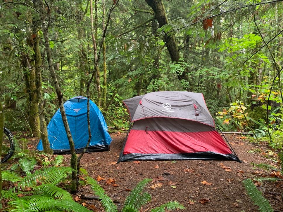 Campinglivet er slett ikke verst (så lenge man ikke blir spist av bjørn)