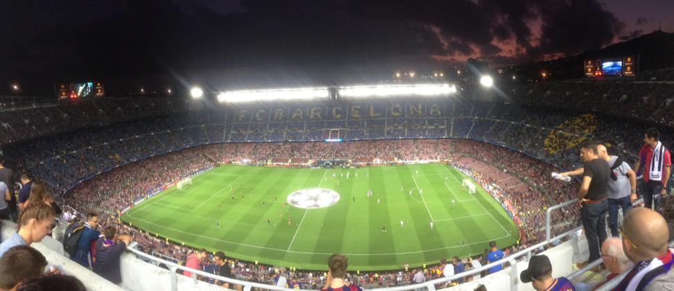 Fikk endelig sett MSN Messi, Suarez og Paulinho!