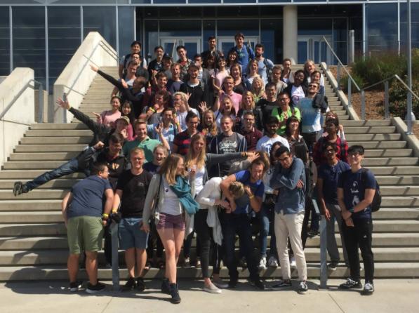Utvekslingsstudentene på Faculty of Engineering.
