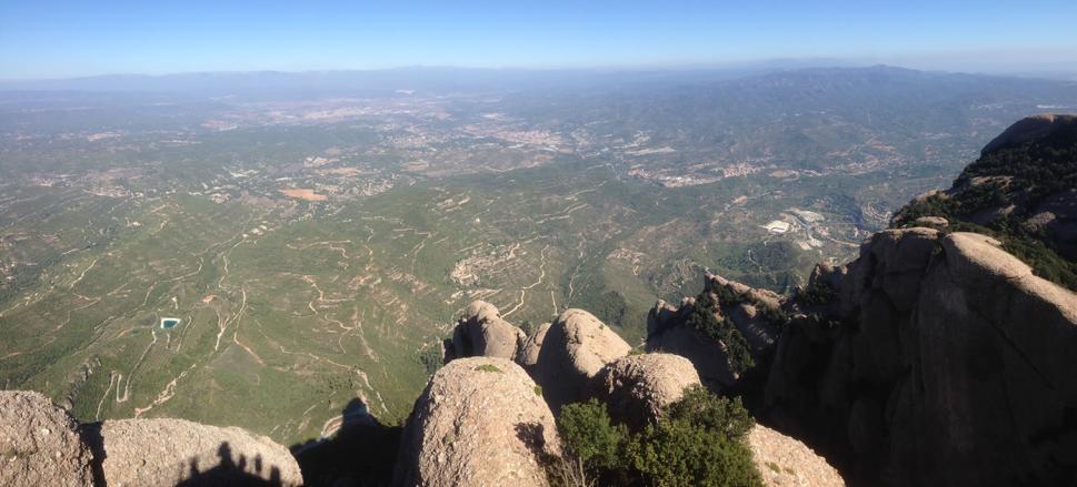 Søndagsturen gikk denne gangen til Montserrat.