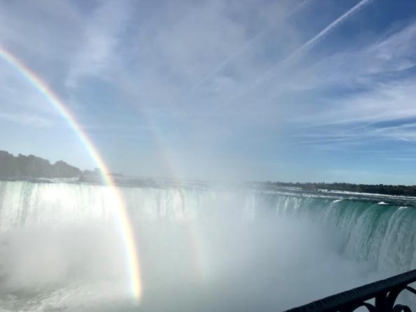 Niagara Falls er verdt et besøk! UW International and Canadian Student Network arrangerer tur hit i starten av semesteret.
