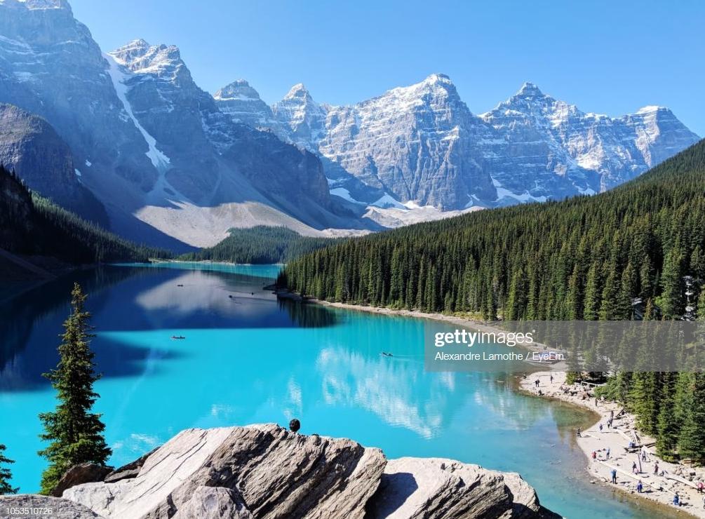 Lake Louise, Banff National Park. Foto: Alexandre Lamothe.